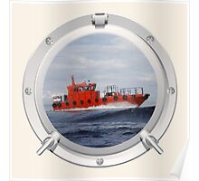 Port Hole View Poster