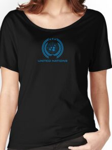The Expanse - United Nations Logo - Clean Women's Relaxed Fit T-Shirt