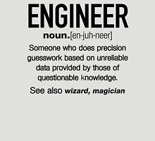 Funny Engineer Meaning Shirt - Engineer Noun Definition Unisex T-Shirt