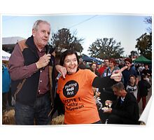 Ken Jasper and Cathy McGowan MP during #Indivotes 2016 Poster