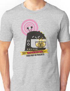 Sci fi baking stand mixer warning tape Unisex T-Shirt