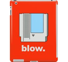 Blow. iPad Case/Skin