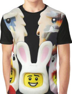 Cute Lego Animal heads Graphic T-Shirt