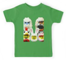 Cute Lego Animal heads Kids Tee
