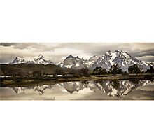 Torres del Paine National Park, Patagonia Photographic Print