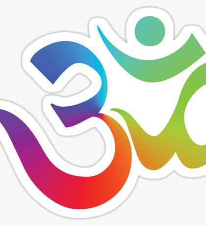 Yoga Om Symbol T-Shirt Sticker