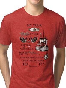 My hands, your hands Tri-blend T-Shirt