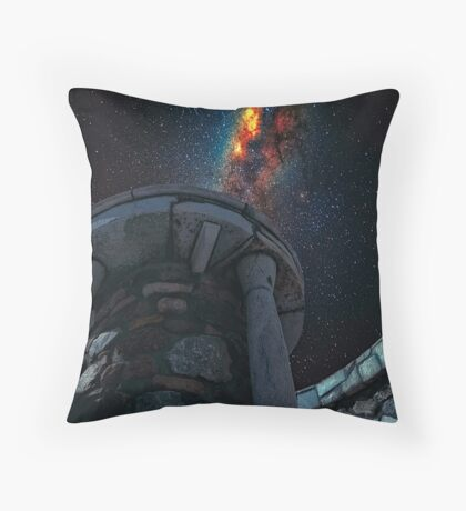 Ancient Greek observatory Throw Pillow