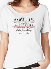 """MADVILLAIN TRIBUTE - """"BISTRO"""" Women's Relaxed Fit T-Shirt"""