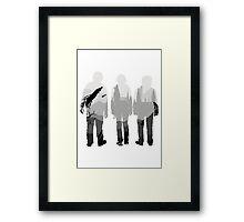 The Golden Trio Framed Print