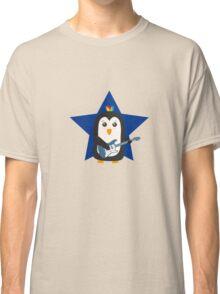 Rock Guitar Penguin Classic T-Shirt