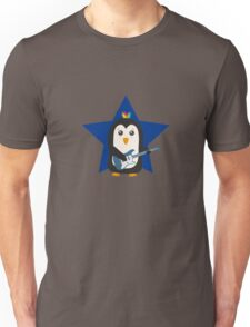 Rock Guitar Penguin Unisex T-Shirt