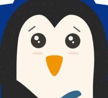 Rock Guitar Penguin Sticker