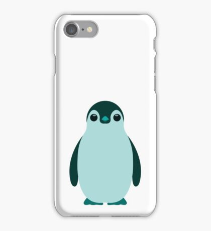 Blue Penguin  iPhone Case/Skin