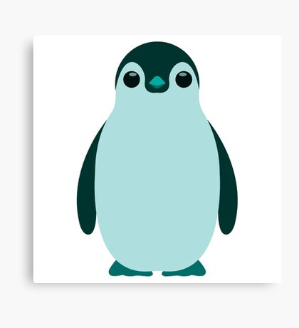Blue Penguin  Canvas Print