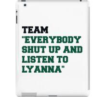 Team Lyanna iPad Case/Skin