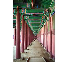 Endless Corridor Photographic Print