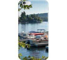 Boats on Lake Arrowhead, CA iPhone Case/Skin