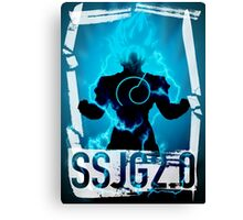 Blue God No.1 Canvas Print