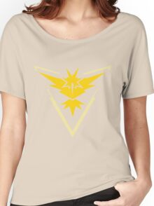 Team Instinct Pokemon Go Women's Relaxed Fit T-Shirt