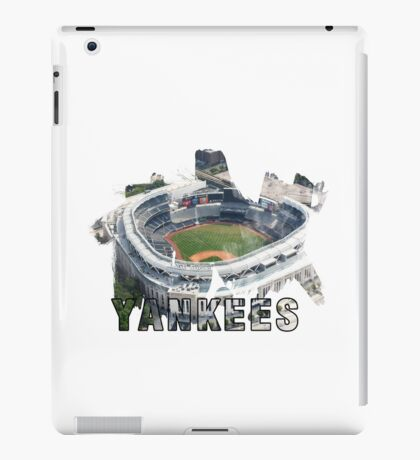 Yankee Stadium Grunge Logo iPad Case/Skin