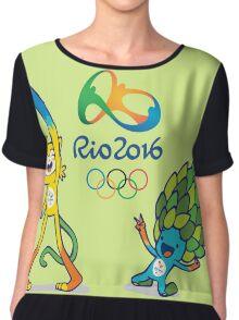 RIO2016 Chiffon Top