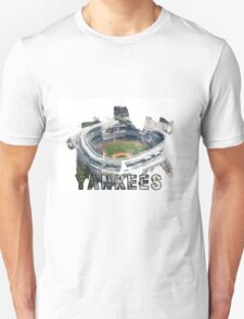 Yankee Stadium Grunge Logo T-Shirt