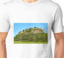 South-Western Sight of Hohentwiel Fortress Ruins - Singen, Germany Unisex T-Shirt