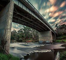 Warrandyte Bridge by mellosphoto