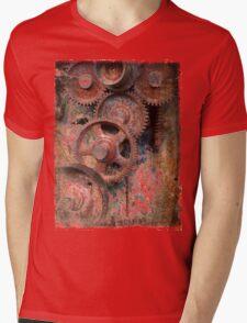 old industrial gears Mens V-Neck T-Shirt