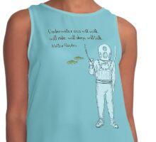 Underwater Men Contrast Tank