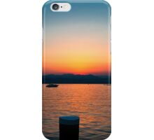 Sunset over Lake Garda iPhone Case/Skin