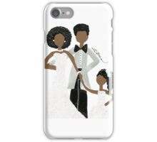 African American Wedding Card iPhone Case/Skin