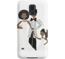 African American Wedding Card Samsung Galaxy Case/Skin