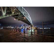 Sydney Harbor Bridge Photographic Print