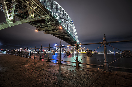 Sydney Harbor Bridge by mellosphoto