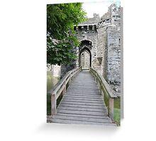 Beaumaris Castle Bridge Greeting Card