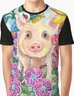 Penelope Pig Graphic T-Shirt