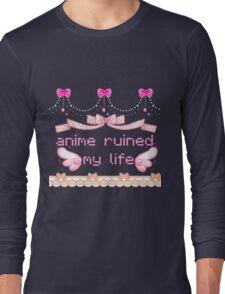anime ruined my life Long Sleeve T-Shirt