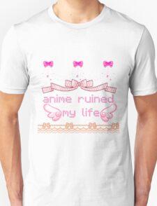 anime ruined my life Unisex T-Shirt
