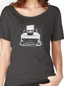 Old Typewriter Women's Relaxed Fit T-Shirt