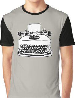 Old Typewriter Graphic T-Shirt