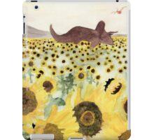 Cretaceous Period Sunflower Field iPad Case/Skin