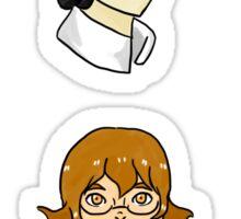 voltron childern Sticker