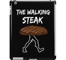 The Walking Steak Funny Parodie Design iPad Case/Skin