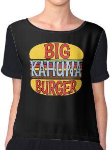 Big Kahuna Burger Tee Chiffon Top