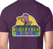 Welcome to Kitty The Kid's Pizzeria! Unisex T-Shirt