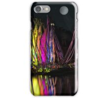 FULL MOON AT THE HARBOR II, by E. Giupponi iPhone Case/Skin