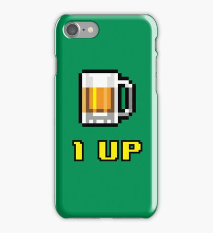 1UP Beer iPhone Case/Skin
