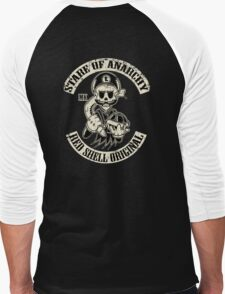 Stare of Anarchy Men's Baseball ¾ T-Shirt